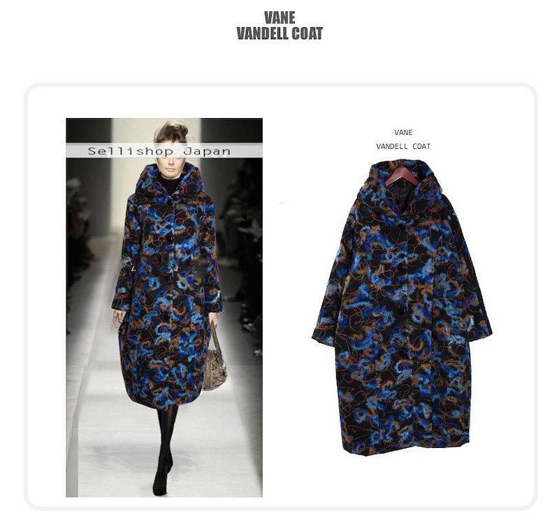 『韓国製』 Vandell 「ジャケット 50代 40代 30代 大きいサイズ ルーズ 黒  コクーン ウール 2L 黒  チェスター Lサイズ」