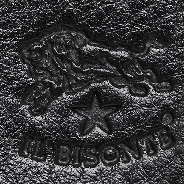 イルビゾンテ 財布 IL BISONTE C0987 P 153 長財布 BLACK