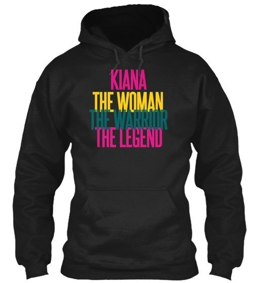 Kiana   The Woman The Warrior Gildan 8oz Heavy Blend Hoodie
