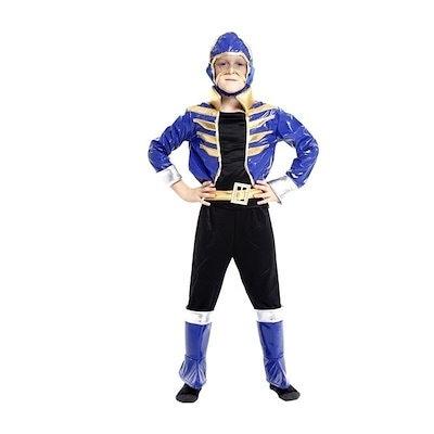 Halloween Costume Children Cosplay Suit Arabian Prince Clothes(Coat+Pants+ Headgear+Belt)