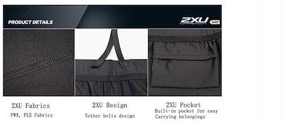 2XU Compression Fashion Women s Tight Pants Elastic Fitness Pants Quick Dry Cycling pants