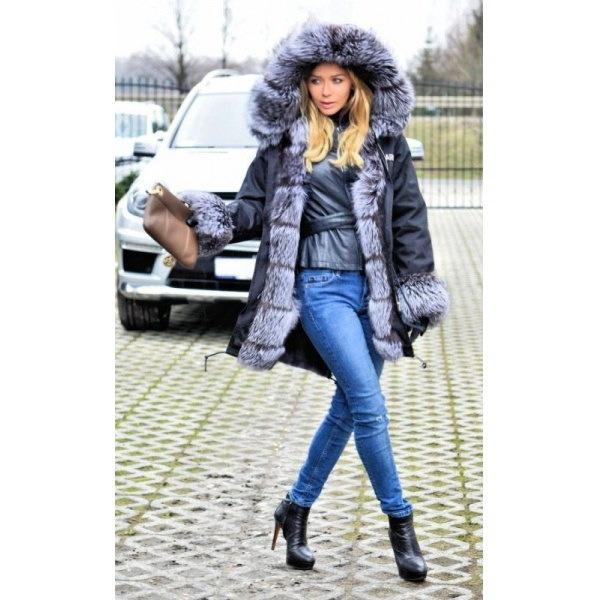 Real Saga Fox Fur Real Fur LinerHoodie Military Coat リアルサガフォックスファーフードライナー付ミリタリーモッズコート