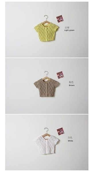 Knit cardigan Girls Sweaters Sweater Children、New stylish Summer Infant sandy beach Baby hollow out Sweaters