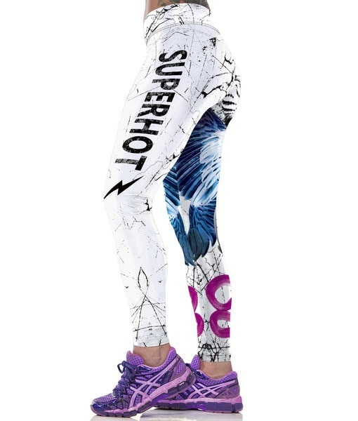 レディーススポーツレギンス、ランニングジョギング用フィットネスレギングセクシーハイウエスト弾性ジムレギンスボディーブ