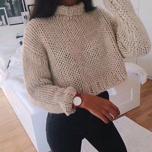 2016ファッション秋冬プラスサイズロングスリーブターメトレーオーバーサイズの女性のためのニットセーター