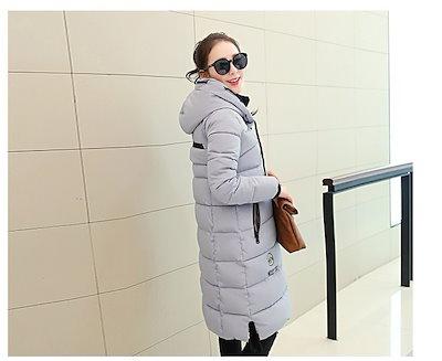 2015新しい冬のカジュアルなコットンジャケット厚く暖かいロングダウンコートの女性のコート