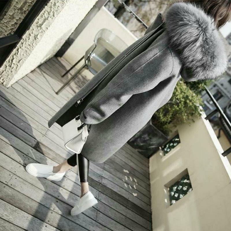 【送料無料】 ★★ZAKKA★★ 韓国ファッション 新型 人気 レディース服/ロングコート/韓国 コート/ダッフルコート/大きいサイズ/コットン