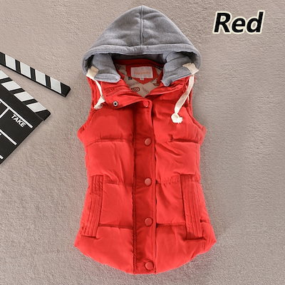 Spring Winter Solid Women Basic Coats Sexy Cotton Vest Patchwork Sleeveless Hooded