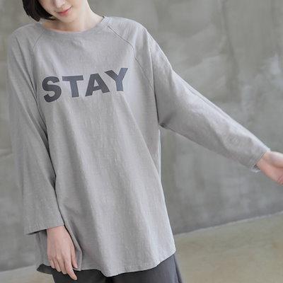 [zoozoom] Lettering Slav T-Shirt 4color / 32285