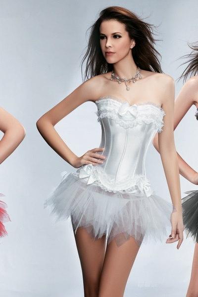 ヨーロッパの宮殿のレースのコルセットの服のイブニングドレスの夕方の衣装(アジアサイズS、M、L、XL、XXL)