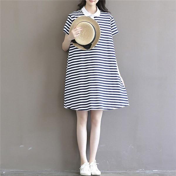 送料無料!!!レディースワンピース 韓国無地 スリム 韓国のファッション  森女系 半袖ストライプワンピース 上品 ロングスカート   プリントワンピース  ハイセンス 着心地いい おしゃれ 夏 スリム セール★ レディースワンピース