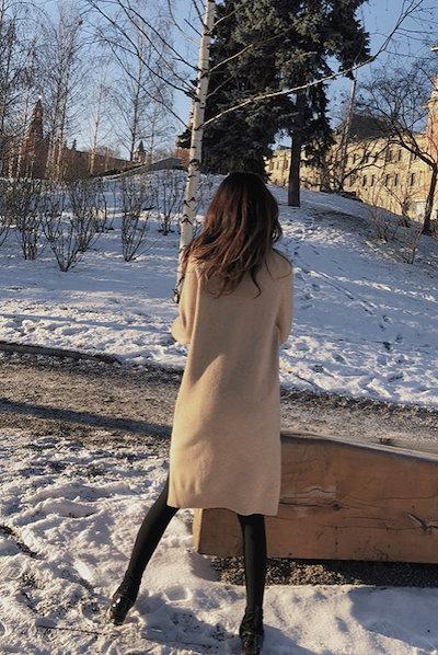 ニットワンピース ニット ひざ丈 タートルネック 長袖 ゆったり あったか 防寒 大人可愛い   秋冬 お出かけ デート ELSJ0037