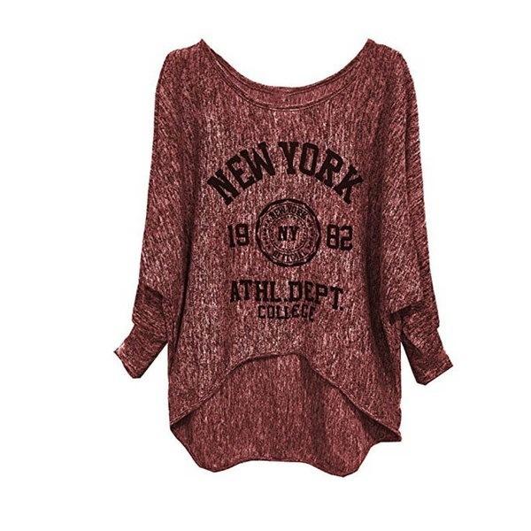 新しいファッションプラスサイズS-5XLカジュアルな秋のコットンTシャツブラウス女性ルーズトップ