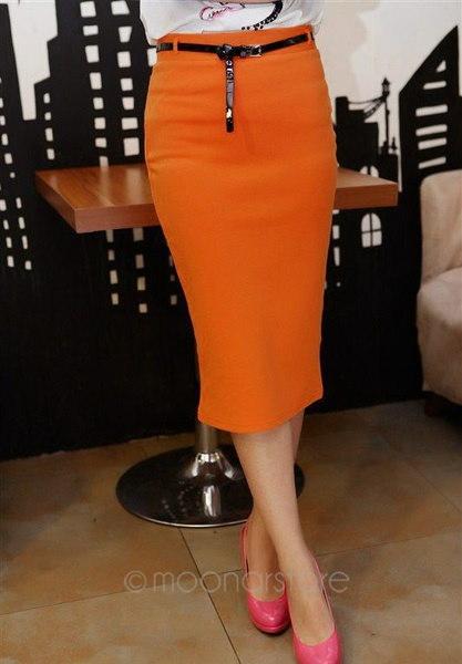 レディースレディースハイウエストベルト付きペンシルスカートストレッチニー長さボディコンドレス