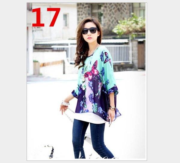 プラスサイズ女性の夏妊婦用シフォンTシャツバットウィングスリーブルーズトップスカジュアルオーバーサイズ