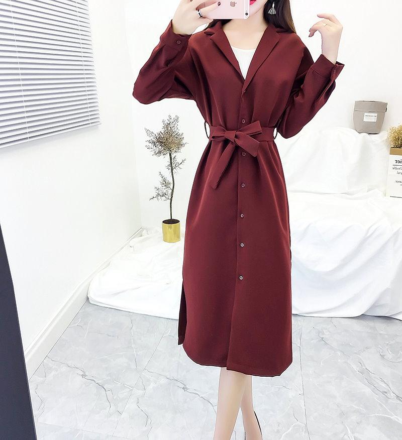 ★韓国ファッションサイト/ モハンドメートフード、ロングコート