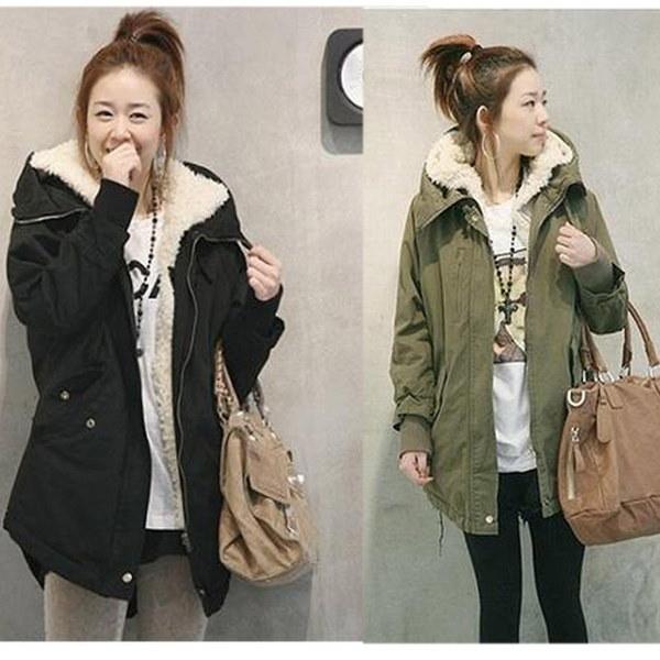 新ファッション女性冬ジャケットファーコートウォームロングコートファッションコットンジャケット(プラスサイズ:XS  -  XXL)