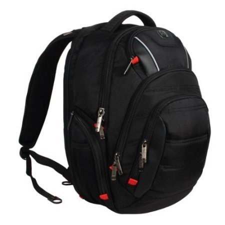 Laptop Backpack, SwissDigital Circuit 7K Series Backpack with USB Port ,RFID Protection and TSA S.