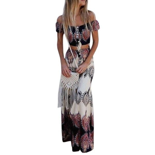 HODMEXIファッション花の頭蓋骨の頭プリントドレス半袖パーティードレス女性の衣服Vestidos