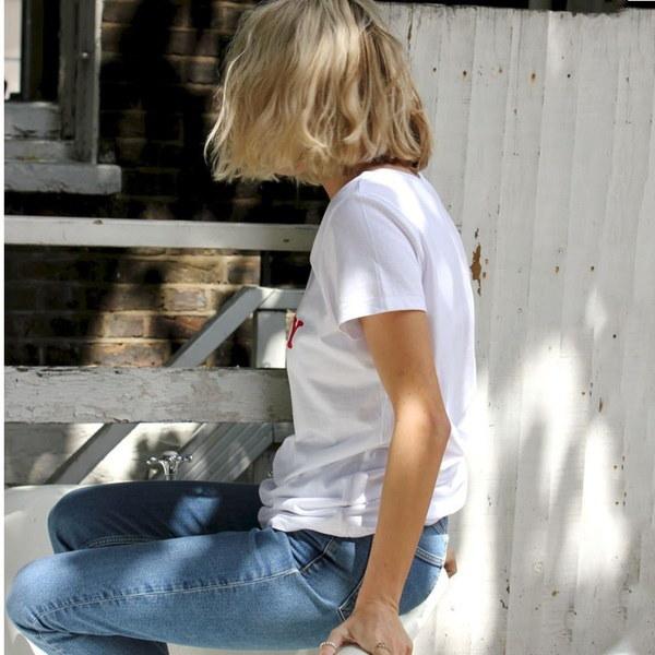 夏2017 Tシャツレディーストップス半袖OネックホワイトTシャツHONEYレタープリントTシャツ
