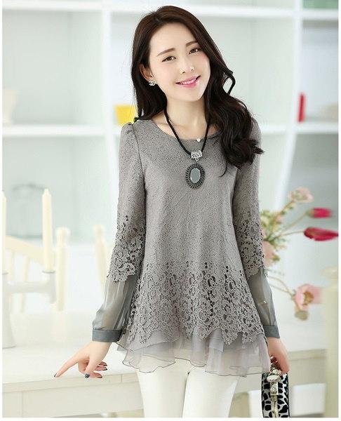 新ファッションレディースボトミングシャツ3色