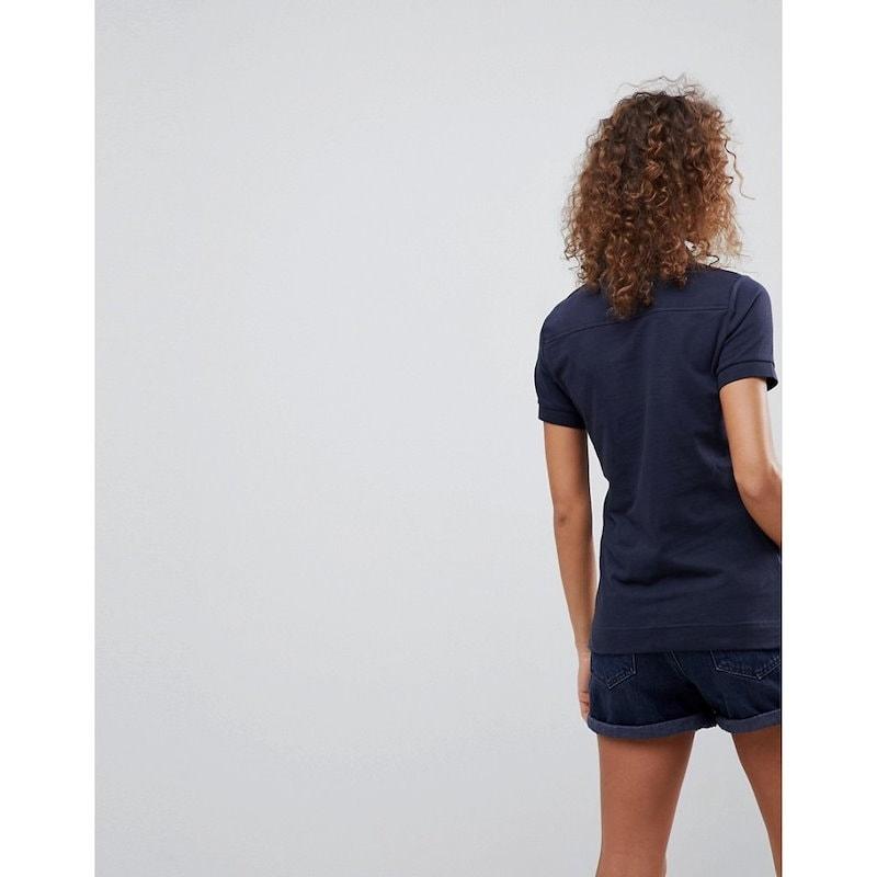 バーブァー レディース トップス【Barbour Polo Shirt】Navy