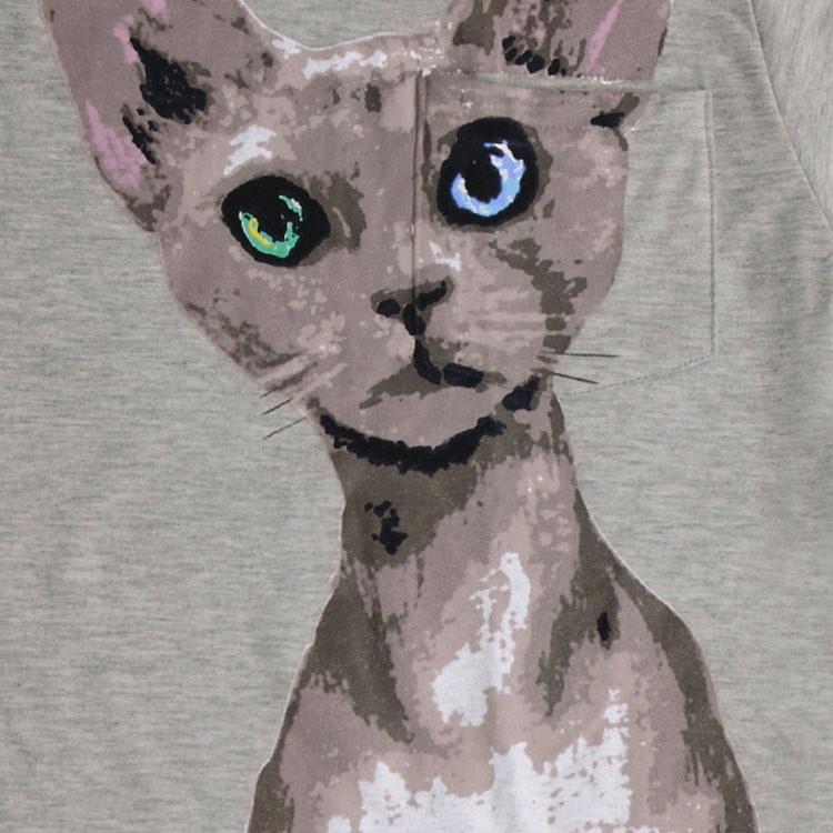 送料無料 可愛い ネコ柄 ワンピース ノースリーブ ワンピース タンクワンピース フェミニン 春夏 レディース