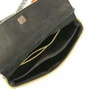 FENDI 8M0371-SL3-F07AGフェンディ 2WAYバッグレザーブラック×マルチカラー