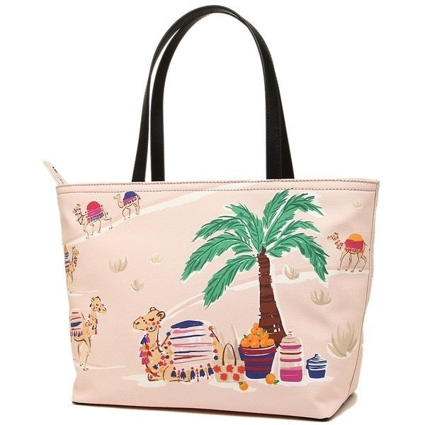 KATE SPADE バッグ ケイトスペード PXRU7638 974 SPICE THINGS UP CAMEL FRANCIS トートバッグ MULTI