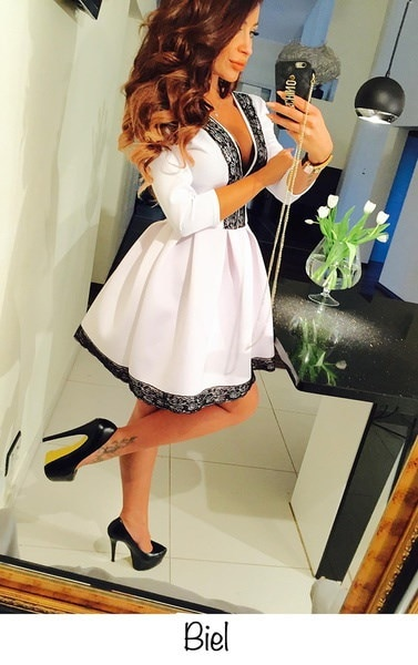 ファッション新しい夏の女性のドレス半袖のレースのプリンセスドレスは、縫う折り畳みドレスを縫う