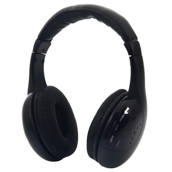 ラップトップ/ PC / TV / MP3用HiFiワイヤレスヘッドセットヘッドフォン+ FMトランスミッタ(サイズ:431g、カラー: