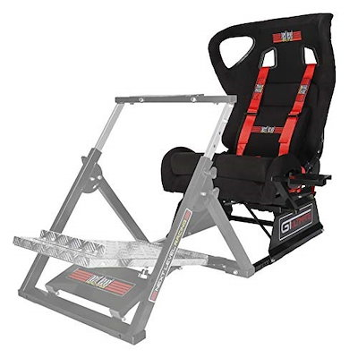 Next Level Racing レーシングシート Seat Add On for Wheel Stand  リクライニング機能