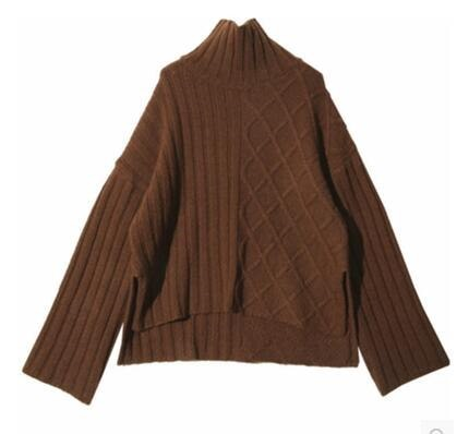 [55555SHOP]韓国ファッション 美人ニット ワンピース最高級品質の極体型カバーになる商品最高級クオリティー保障