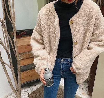 ジャケット モコモコ【大きいサイズ レディース フェイクレザー テーラード フォーマル 卒業式 結婚式 冬 jaket Blazer】