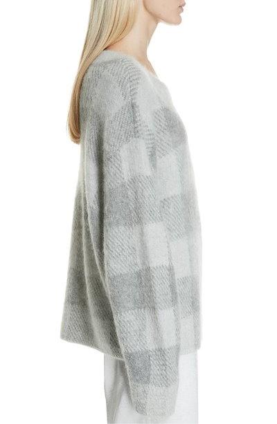 ヴィンス レディース ニット・セーター アウター Vince Plaid Oversize Sweater