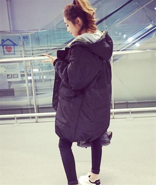 超人気アイテム  中綿コート韓国ファッション  レディース ロングアウター ダ  トレンチロングコート 秋冬 防寒 軽量 大きいサイズ トップス 通勤用 フード付き 暖かい 秋冬  送料無料