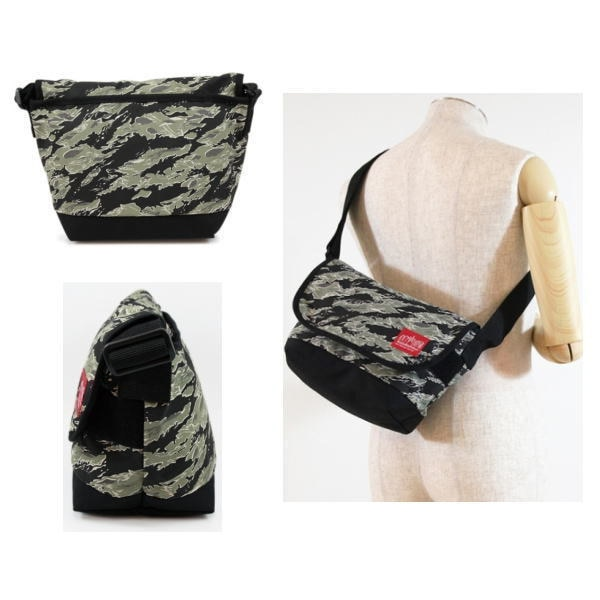 【送料無料】 マンハッタンポーテージ 限定 メッセンジャー バッグ Manhattan Portage Tiger Stripe Camo Casual Messenger Bag 1605JRTSCバッグ かばん 鞄【OJOJ-08lrc】●