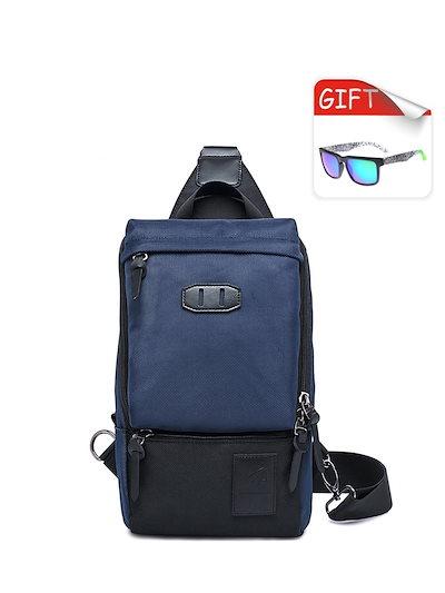 Men s Crossbody Bag Solid Color Casual Oxford Fashion Bag