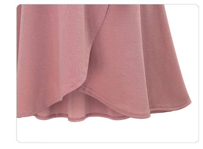 【即日発送】ロングスカートロング丈/マキシ丈/大きめサイズ対応/巻きスカート/3カラー/ふわふわり
