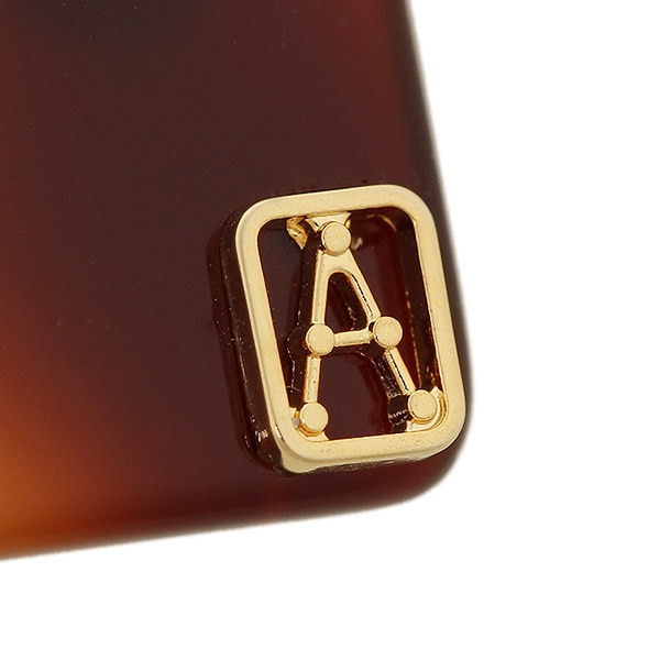 アレクサンドル ドゥ パリ バレッタ ALEXANDRE DE PARIS AA8-550 TORTO E CLASSIQUE ヘアアクセサリー ブラウン