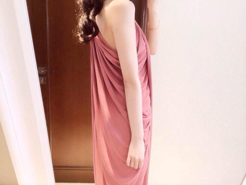ロングドレス ワンピース ロングワンピ ギャザー デザイン キャミソール フリーサイズ タイト スリム ロングスカート リゾート 水着 コットン ルームウェア 韓国 ファッション 韓流 ベアトップ キレイ 可愛い ピンク ダークブルー フリーサイズ (61-24) ※納期に10日から14日ほどかかります。