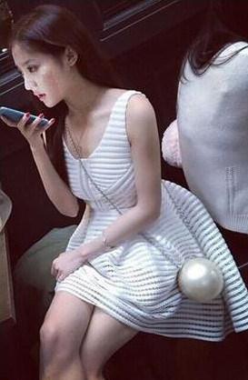♥セレブ風スタイル セクシー 3COLORS 夏必備 袖なし♥ドレス/半袖のスカート 二次会 お呼ばれパーティ フリーサイズ ボディコン/キャバドレス、ドレス/トレーナー/パーカー/セクシー/ワンピース ♥韓国ファッションワンピース/夏ファッションワンピース/シャツ/スカート/ルームウェア/ドレス/パンツ/韓国服♥結婚式ワンピース