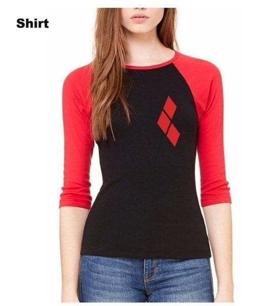ファッションWomens Black Harley Varsity JacketカレッジレターマンスクワットセーターコートBaseball Shirts Top