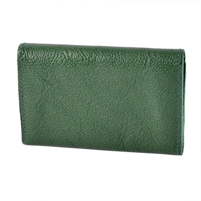 イルビゾンテ IL BISONTE C0506 MP 293 Verde カードケース 名刺入れ CARD CASE