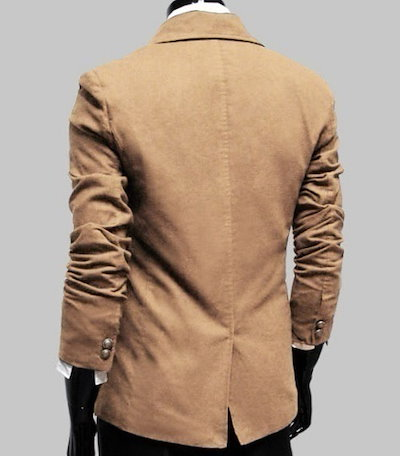 New Elegant Fashion Korean Men s Single-breasted Slim Wind Coat Overcoat Long Jacket HJ0100