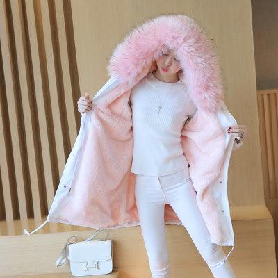 超防寒軽い襟ファーダウンジャケット ダウンコート 韓国ファッションダウンジャケットロング  中綿コート ミリタリーコート 大きいサイズ 防寒・防風・ 冬コート ロングコート ファー取外でき