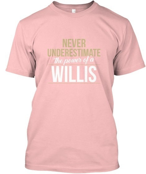 Willis   Never Underestimate A Willis Hanes Tagless Tee