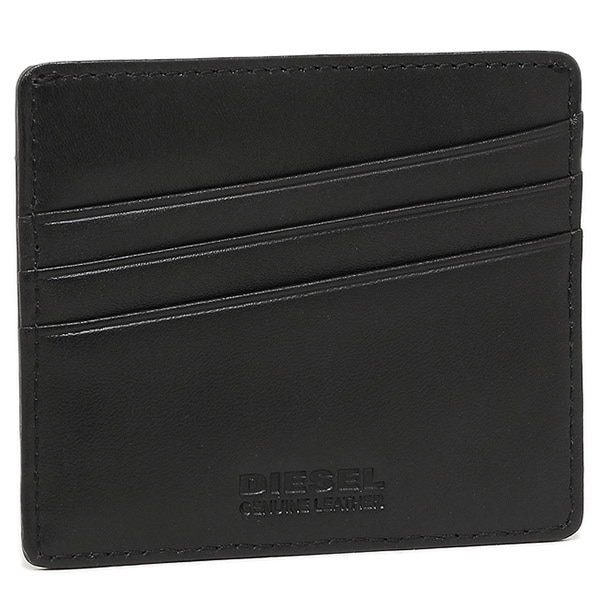 ディーゼル カードケース DIESEL X03345 P0517 H6028 JOHNAS 定期入れ・パスケース BROWN