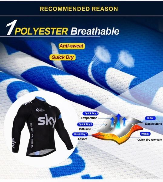 メンズサイクリングジャージーシクリストサイクリングウェアスポーツウェア/クイックドライMTB自転車ジャージー/マウンテンバイクWe