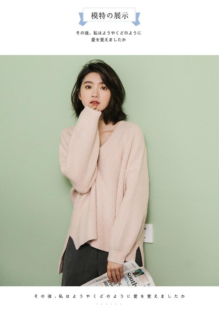レディース ニット セーター トップス アウター  保温 暖かい 新作 長袖 ファッション